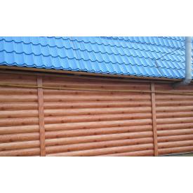 Блок хаус металлический Евро-Строй 365 мм