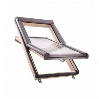 Мансардное окно Roto Designo R45 H 65х140 см