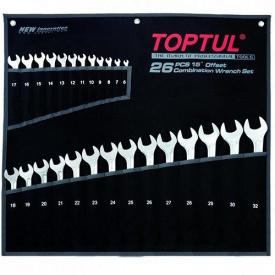 Набор ключей комбинированных 26 шт 6-32 мм TOPTUL Super-Torque GPAW2601