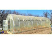 Теплица Урожайная с пленкой 3х12х2.3 м