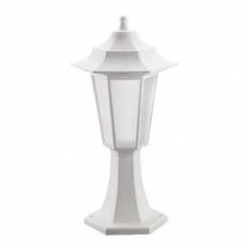 Светильник садово-парковый BEGONYA-1 Е27 белый