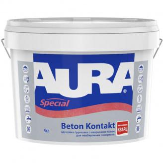 Грунтовка Aura Beton Kontakt 4 кг