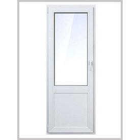 Балконні двері Стандарт WDS 6S металопластикова 900х2100 мм
