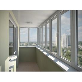 Балкон профиль WDS 7S 6 камер 4800х1500 мм