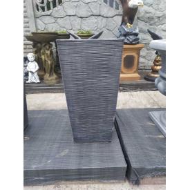 Горщик з бетону для квітів 40х40х90 см