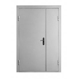 Техническая металлическая дверь Міськбудметал ДМЗ 19-12 1900х1200 мм