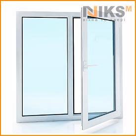 Металлопластиковое окно WDS 5S 6 камер 1300х1400 мм