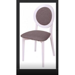 Обідній дерев'яний стілець КОСМО М З615С білий слон.кістка
