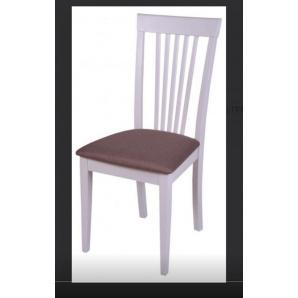Кухонний стілець з м'якою сидушкою Мілан Н білий слон.кістка
