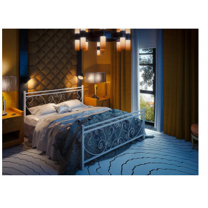 Кровать металлическая Монстера 1400х1900