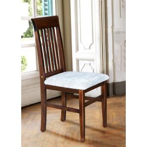 Кухонний стілець Олена з масиву дерева з м'якою сидушкою