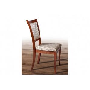Класичний дерев'яний стілець з м'якою сидушкою спинкою Верона горіх