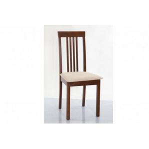 Обідній стілець з м'якою сидушкою Ніка Н горіх