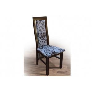 Стілець дерев'яний з м'якою сидушкою спинкою Катрін темний горіх/венге