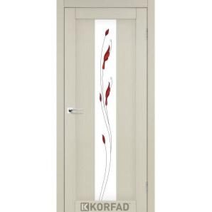 Міжкімнатні двері Korfad PORTO PR-10 800х2000 мм Білений дуб