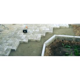 Укладка тротуарной плитки с подготовкой бетонного основания