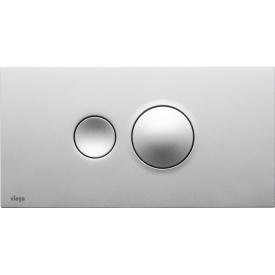 Кнопка смыва Visign for Style 10 матовый хром Viega 596347