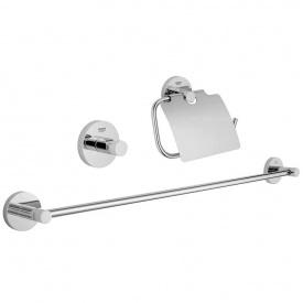 Essentials Набор аксессуаров 3 предмета GROHE 40775001