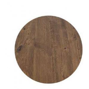 Стільниця кругла з масиву дерева в стилі Лофт