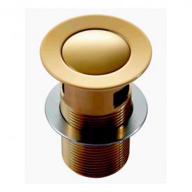 Клапан донный Pop up золото IMPRESE PP280zlato