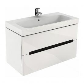 MODO шкафчик под умывальник 99x55x47,9 см белый глянец пол KOLO 89507000