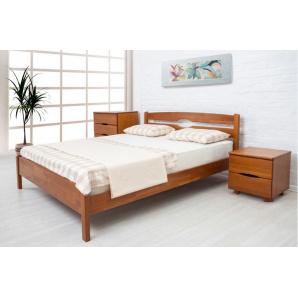 Ліжко з масиву бука Ликерія люкс 800 мм