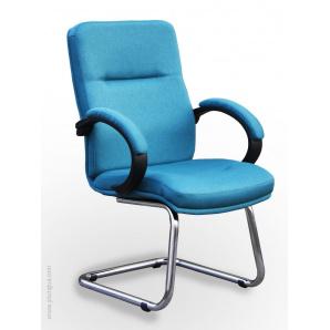 Комп'ютерний стілець з ергономічною спинкою Дакота До в тканини