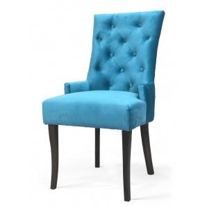 Дизайнерський обідній стілець Туер Тканину дерева на вибір