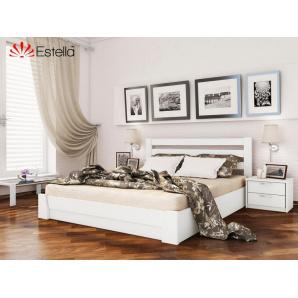 Дерев'яна ліжко Селена 120x190