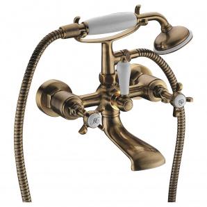 CUTHNA antiqua двохвентильний змішувач для ванни бронза IMPRESE 10280 antiqua-n