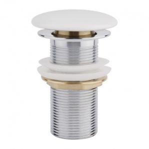 Донний клапан для раковини Q-tap F008 WHI Pop-up
