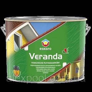 Eskaro Veranda TR 0,9 л Олійно-акрилова фарба для деревини