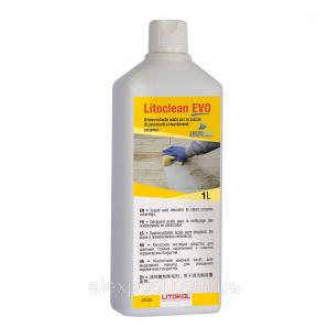 Litokol Litoclean EVO 1 л Кислотная жидкость для очистки керамических покрытий на основе кислоты