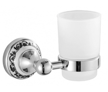 Настінний скляний стакан срібло HI-NON