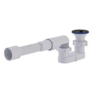 Сифон ANI Plast Е015-E016 для душового піддону випуск 70 мм вихід 50 мм