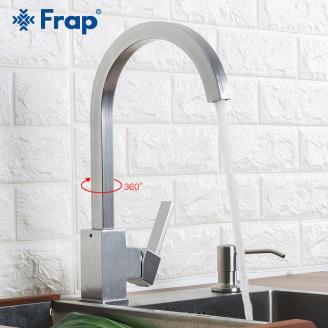 Змішувач Frap F4052-5 для кухні дж. алюміній