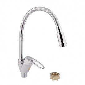 Смеситель для кухонной мойки Lidz (CRM)-16 37 008 04