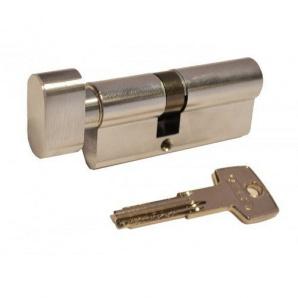 Цилиндр замка ABUS КD6 ключ-тумблер 70 мм 35х35т никель 5 ключей