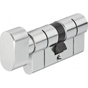Цилиндр замка ABUS КD6PS ключ-тумблер антивыбивание 100 мм 50х50т никель 5 ключей