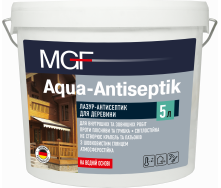 Лазур-антисептик MGF Aqua-Antiseptik безбарвний 10л