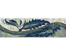 Плитка Олександрія блакитний ФРИЗ 200x60 1сорт В13411