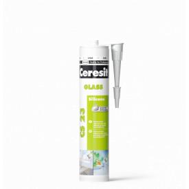 CS23 Герметик для скла прозорий силіконовий 280 мл