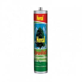 Герметик полиуретановый BUILD серый 280мл Hercul