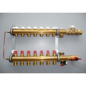 Модуль керування для підлогового опалення підключення знизу COMPACTFLOOR light SK 8 відводів Herz 3F53378
