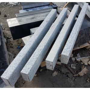 Бордюр гранітний Покостівського родовища 5-ДП 20х8 см 1 м світло сірий