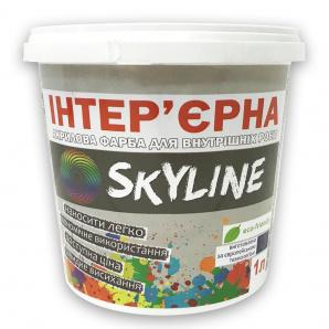 Краска акриловая Интерьерная SkyLine 1л