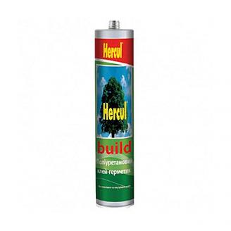 Герметик поліуретановий BUILD сірий 280мл Hercul