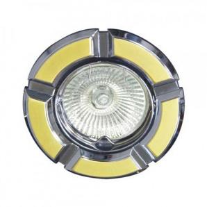 Вбудований світильник Feron 098Т MR-16 золото хром