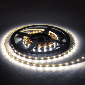 Світлодіодна стрічка Feron SANAN LS606 60SMD/м 12V білий теплий IP20