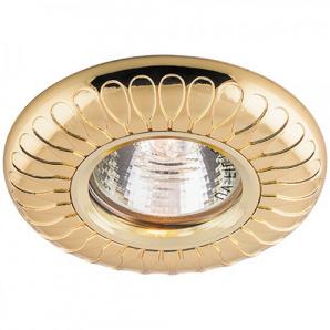 Вбудований світильник Feron DL6047 золото